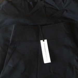 Lane Bryant modernist collection, black skirt,